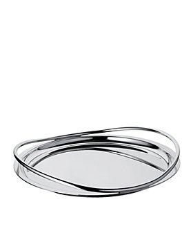 Christofle - Vertigo Round Tray