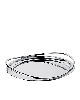 Christofle - Christofle Vertigo Round Tray