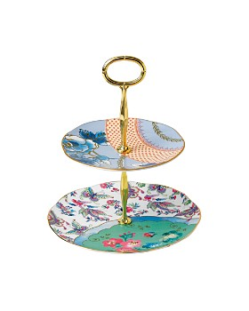 Wedgwood - Butterfly Bloom 2-Tier Cake Stand