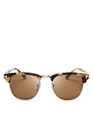 Tom Ford Men's Henry Square Sunglasses, 50mm