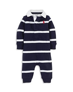 Ralph Lauren Boys' Striped Rugby Coverall - Baby - Bloomingdale's_0