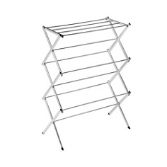 Honey Can Do Commercial Chrome Accordion Drying Rack - Bloomingdale's Registry_0