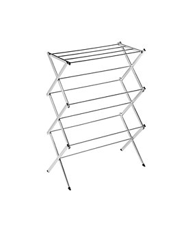 Honey Can Do - Honey Can Do Commercial Chrome Accordion Drying Rack