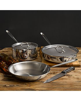 All-Clad - Stainless Steel 5-Piece Cookware Set