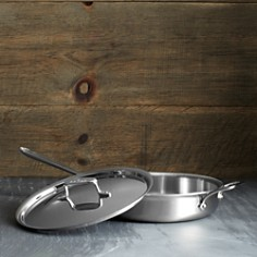 All-Clad - d5 Stainless Brushed 3 Quart Sauté Pan with Lid