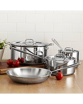 All-Clad - Stainless Steel Sets