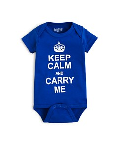 Sara Kety Boys' Keep Calm Bodysuit - Baby - Bloomingdale's_0