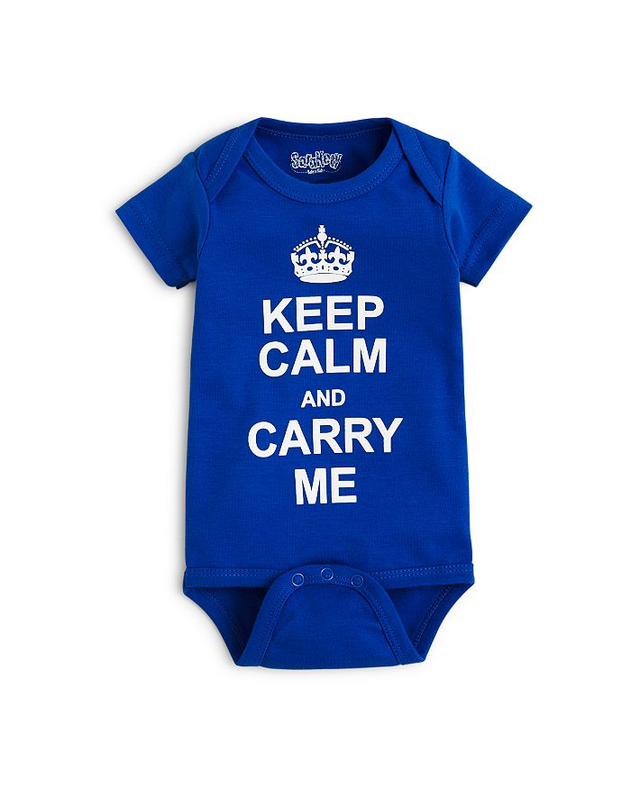Sara Kety - Boys' Keep Calm Bodysuit - Baby