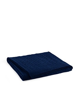 Ralph Lauren - Cable Cashmere Throw Blanket