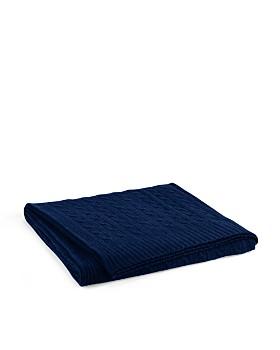 Ralph Lauren - Ralph Lauren Cable Cashmere Throw Blanket