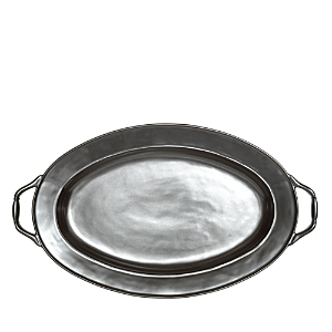 Juliska Pewter Stoneware Turkey Platter, 23.5
