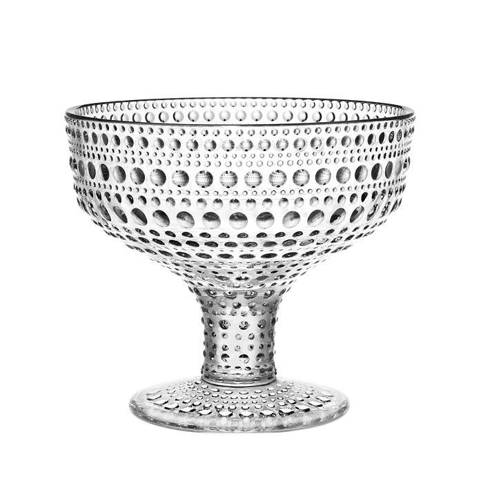 Iittala - Kastehelmi Footed Bowl