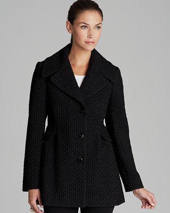 Calvin Klein - Basketweave Coat