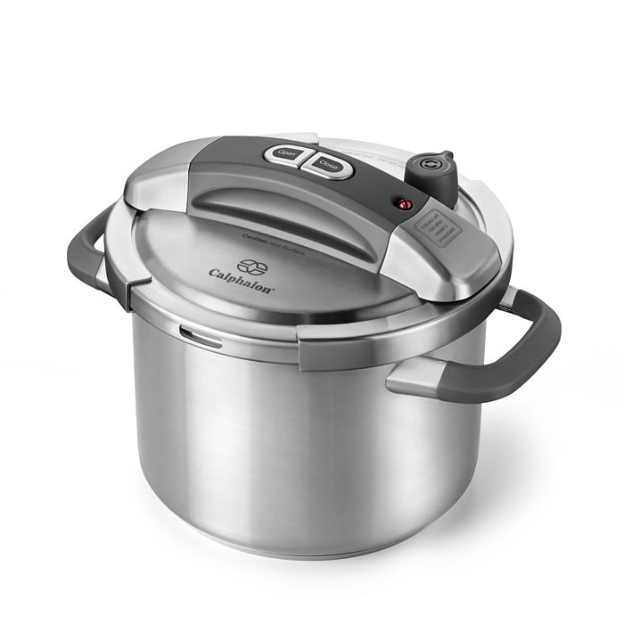 Calphalon - 6-Quart Stainless Steel Pressure Cooker