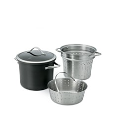 Calphalon Contemporary Nonstick 8-Quart Multi Pot & Lid with Steamer Inserts - Bloomingdale's_0