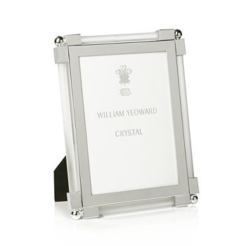 William Yeoward Crystal - Satin Frame, 5 x 7""