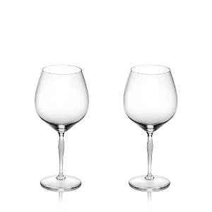 Lalique 100 Points Red Wine Glass, Set of 2