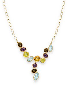 """Multi Gemstone Necklace in 14K Yellow Gold, 18"""" - 100% Exclusive - Bloomingdale's_0"""