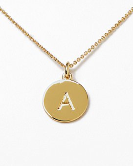 kate spade new york - One in a Million Initial Pendant Necklace, 18""