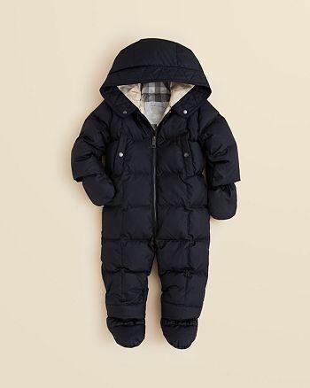 06f04b0b6 Burberry Infant Boys' Skylar Snowsuit - Sizes 3-24 Months ...