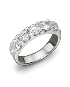 Certified Diamond 5 Station Band in 18K White Gold, 2.0 ct. t.w. - 100% Exclusive - Bloomingdale's_0