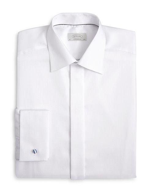 Eton - Classic Diamond Tuxedo Shirt - Regular Fit