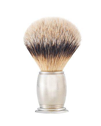 The Art of Shaving - Brush Engr Nickel Silvertip
