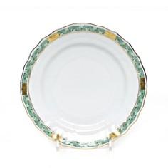 Herend - Chinese Bouquet Garland Green Bread & Butter Plate