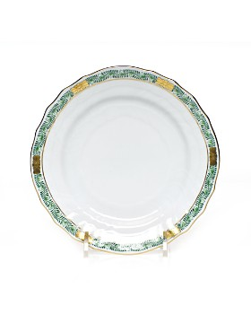 Herend - Chinese Bouquet Garland Green Bread & Butter Plate