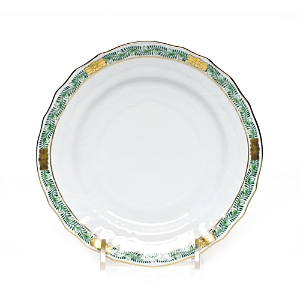 Herend Chinese Bouquet Garland Green Bread & Butter Plate