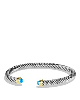 David Yurman - Cable Classics Bracelet with Gemstones and Gold
