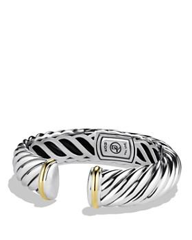David Yurman - Waverly Bracelet with Gold