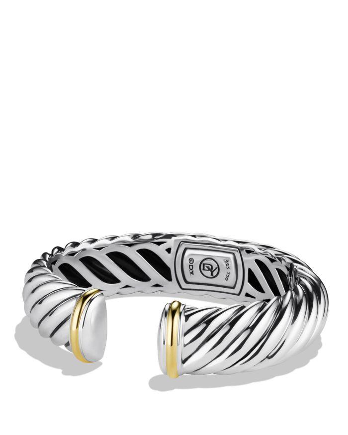 David Yurman Waverly Bracelet with Gold    Bloomingdale's