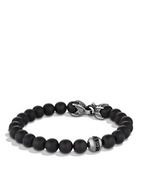 David Yurman - Spiritual Beads Bracelet with Black Onyx & Black Diamonds