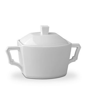 L'Objet - Byzanteum Blanc Sugar Bowl