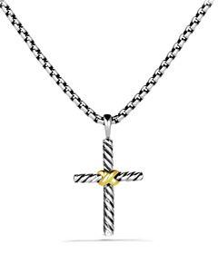 20c13a274452 David Yurman Cable Classics Cross with Diamond
