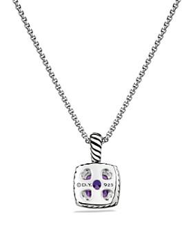David Yurman - Petit Albion Necklace with Gemstones & Diamonds on Chain