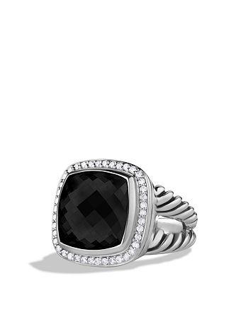 David Yurman - Albion Ring with Black Onyx & Diamonds