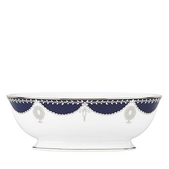 Marchesa by Lenox - Empire Pearl Open Vegetable Bowl, 64 oz.