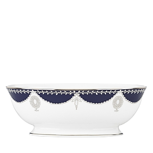 Marchesa by Lenox Empire Pearl Open Vegetable Bowl, 64 oz.