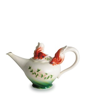 Franz Collection - Goldfish Teapot