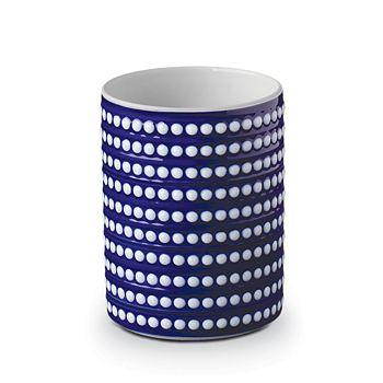 L'Objet - Perlee Bleu Short Vase