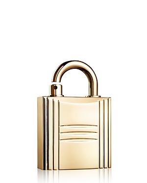 HERMES Gold-Tone Refillable Lock Spray 0.25oz.
