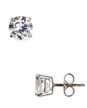 Carolee - Small Cubic Zirconia Stud Earrings