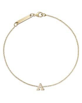 Zoë Chicco - 14K Yellow Gold Initial Bracelet