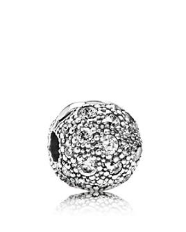 Pandora - Sterling Silver & Cubic Zirconia Cosmic Stars Clip