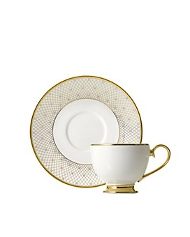 Prouna - Princess Gold Teacup & Saucer