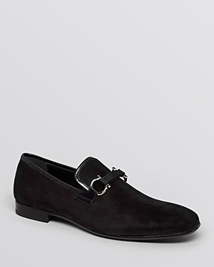 Salvatore Ferragamo Velvet Formal Loafers