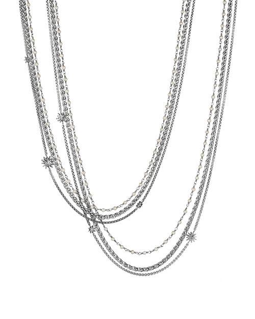 David Yurman - Starburst Pearl Chain Necklace