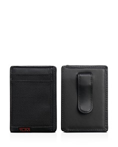 Tumi RFID Alpha Money Clip Card Case - Bloomingdale's_0